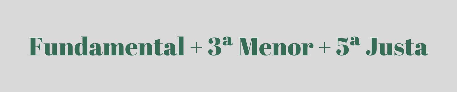 Fundamental 3ª Maior 5ª Justa 2 - Como Formar Acordes Para Teclado e Piano e Aprender Para Toda Eternidade