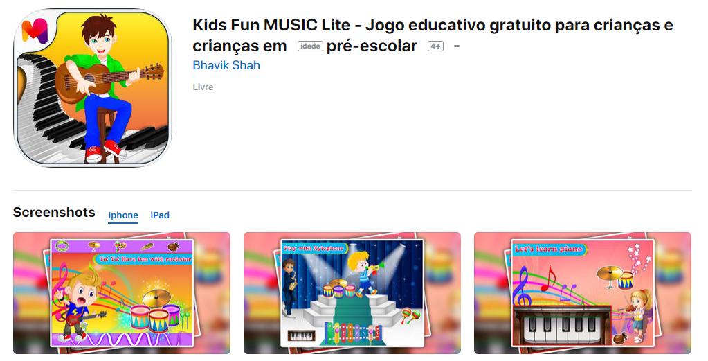 Kids Fun Music Lite Para IOS