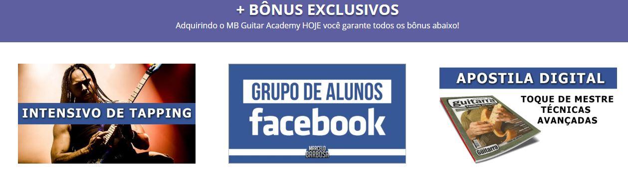 Bônus do curso - MB Guitar Academy Essencial: Curso de Guitarra do Marcelo Barbosa Online