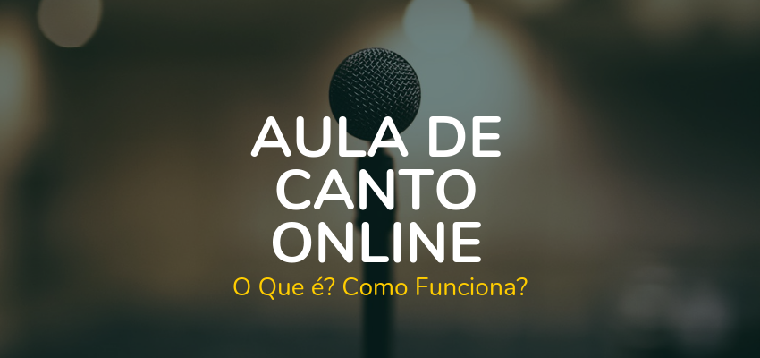 Aula de Canto Online: Imagine Ter Uma Voz Poderosa… BRINDE No Final