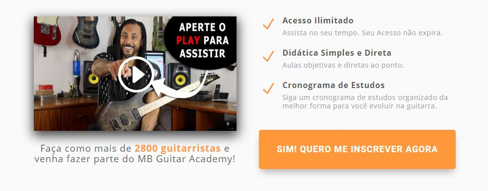 Curso MB Guitar Academy Essencial Compra - MB Guitar Academy Essencial: Curso de Guitarra do Marcelo Barbosa Online