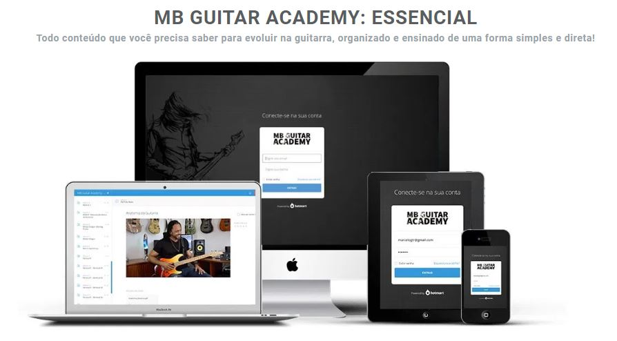 MB Guitar Academy Essencial Curso Guitarra Marcelo Barbosa