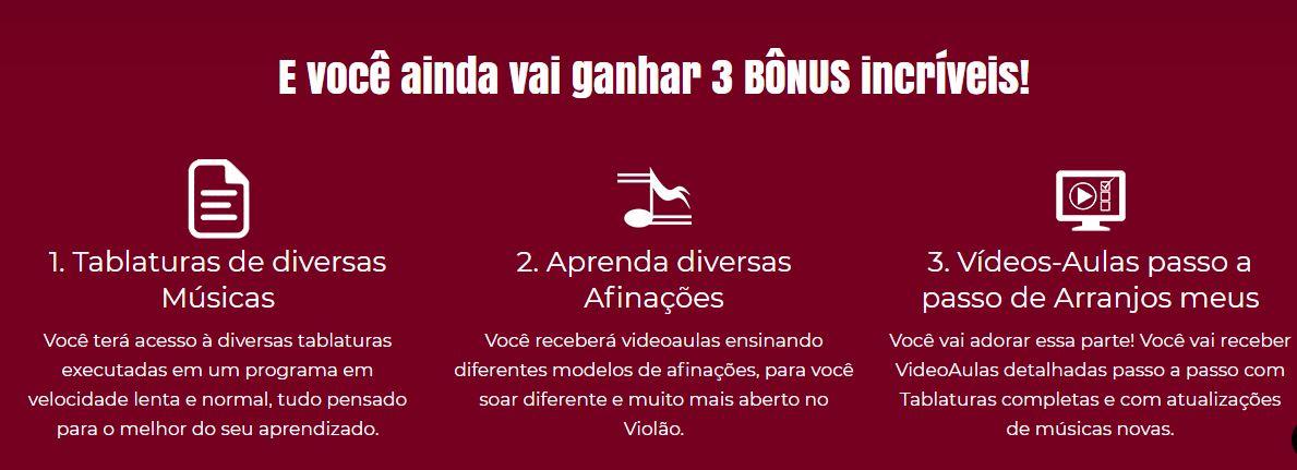 Bônus Aulas de Violão FingerStyle em Casa Online Rafael Alves