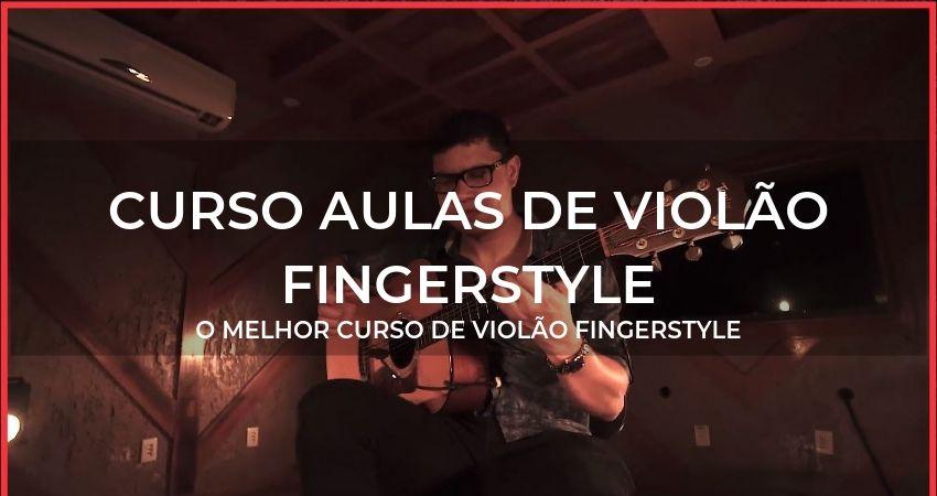 Curso aulas de violão fingerstyle