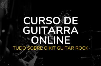 Kit Técnica Guitarra Rock Do Curso De Guitarra Online