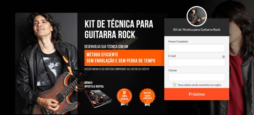 Página de inicialização de pagamento e1538419120129 - Curso Ozielzinho Kit Técnica De Guitarra Rock 2.0 Online