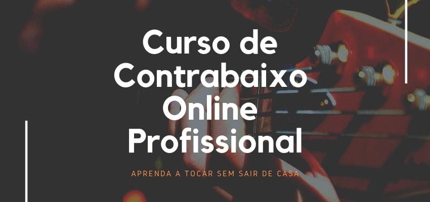 Curso de Contrabaixo Online Completo: Aprenda a Tocar com TOP Aulas de Baixo