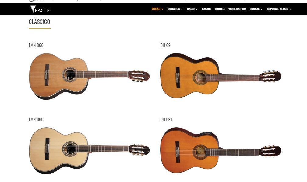 Tipos de violão clássico