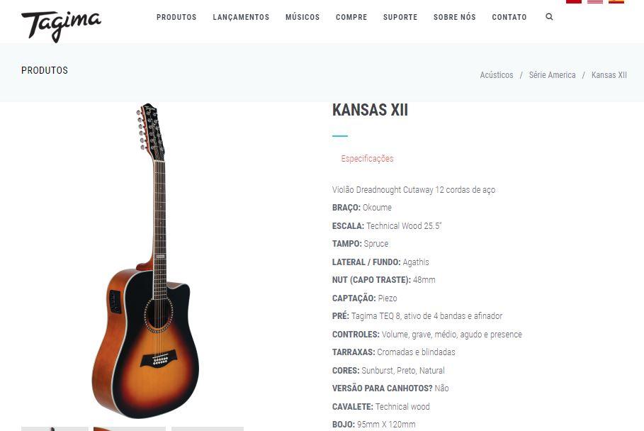 Tipos de violão de 12 cordas