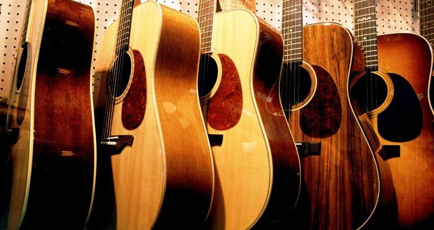 Os tipos de violões