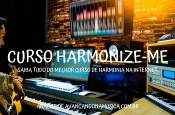 Curso Harmonize-me online como harmonizar trechos músicas