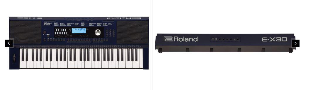 Roland E X30 - O que é um Teclado Arranjador? Aprenda a Identificar