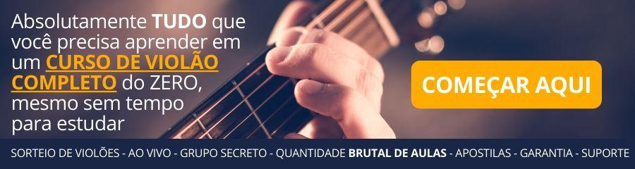 Indicação de curso violão do zero