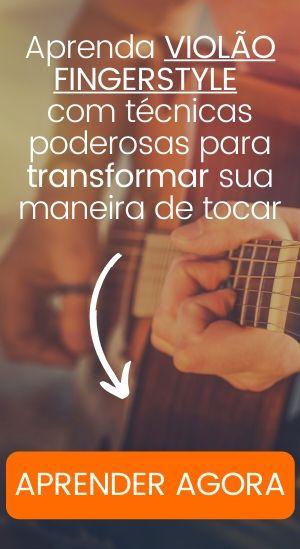 Publicidade de curso de violão